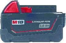 IND004745-accumulateur 18v 4ah li ion*milwaukee* p/06782-berthelot