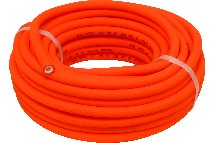 IND000748-couronne 20m tuyau air orange 8x14mm sans raccord-berthelot