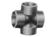 IMPA731766-cross steel 1 threaded, for h.p. pipe fitting-berthelot
