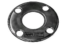 IMPA811830-gasket flange copper wrapped, n/a fullface 10kg/cm2 2mm 200a-berthelot